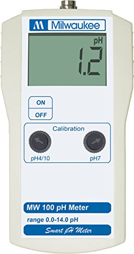 Milwaukee Instruments MW100 Ph Meter with 2 Point Manual (Milwaukee Ph Meter)
