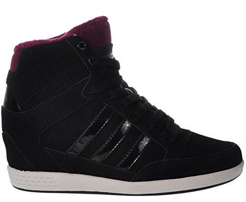 adidas - Hi-Tops - Super Wedge Schuh - Core Black - 40 2/3