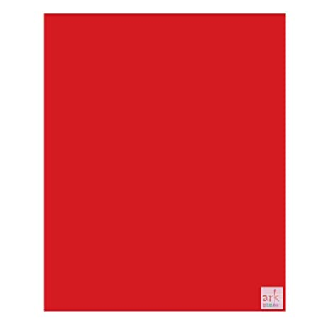 10 unidades, A3 tarjeta roja, con ribete de lino efecto ...