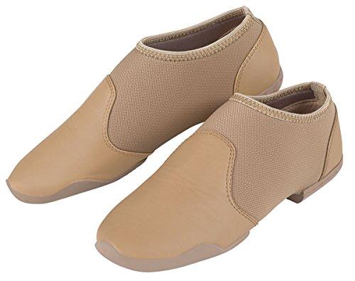Stijl Plus Dames S-five Dance Shoe Tan