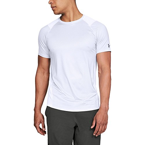 Under Armour Men's Raid 2.0 Shorts Sleeve Top, White, X-Large Tall