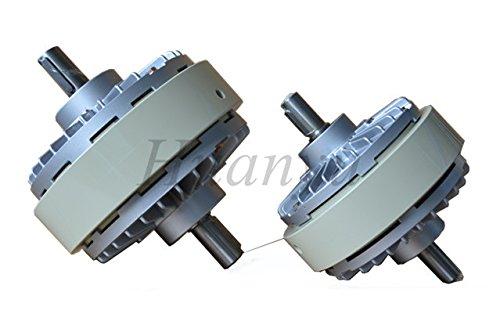 Huanyu - Polvo magnético de alta precisión biaxial 24 V para control de tensión de impresión con purpurina, mango de expansión magnético: Amazon.es: ...