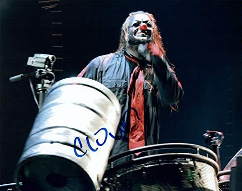 CLOWN Signed Autographed 8x10 Photo Shawn Crahan Slipknot Drummer COA