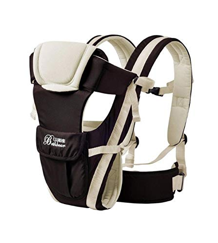 Classical Durable New Born Front Baby Carrier Comfort Baby Slings Fashion Mummy Child Sling Wrap Bag Infant Carrier (White) by Unknown (Image #1)
