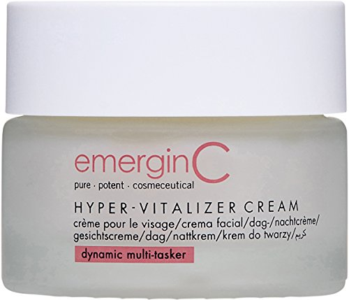 emerginC Hyper-Vitalizer Face Cream - Antioxidant Moisturizer with CoQ10 + Hyaluronic Acid (1.7 Ounces, 50 Milliliters) (Best Face Cream For Women Over 50)