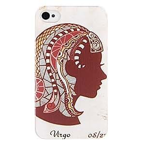 GONGXI- India Virgo nuevo caso para el iPhone 4/4S