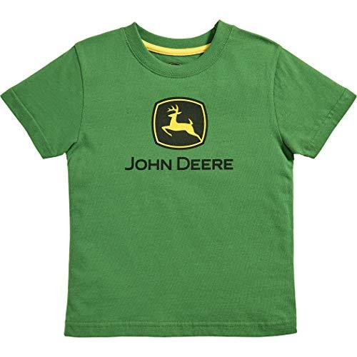 John Deere Toddler Kids Boys Trademark Short Sleeve Tee, GREEN, -