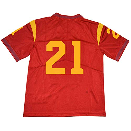 yicana Red USC Jersey #21 Without Name (X-Large)