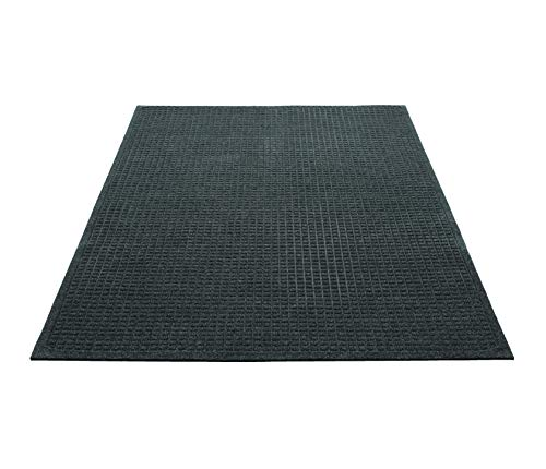- Guardian EcoGuard Indoor Wiper Floor Mat, Recycled Plastic and Rubber, 3' x 5', Green