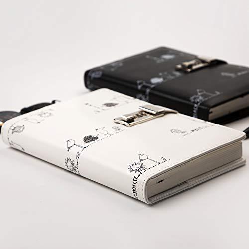 Passwortsperren-Tagebuch    mit    niedlichem kreativem kreativem kreativem    europäischem    weiblichem Notizbuch des europäischen Handbuches des Schlosses , Panda B07Q193WMH | Mittel Preis  017b86