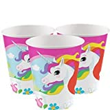 Amscan International 9902102 266ml Unicorn Paper Cups