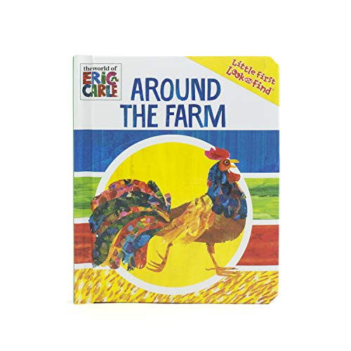 World of Eric Carle, Around the Farm Little First Look and Find - PI Kids