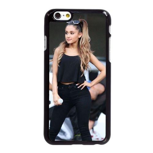 D7T97 Ariana Grande N2F6EX coque iPhone 6 4.7 pouces Cas de couverture de téléphone portable coque noire DG2QZX9UN