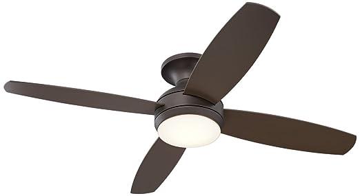 led ceiling fan light kit elite oil rubbed bronze hugger bulbs ge