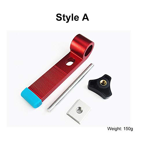 (fangyiju Aluminium T-Type Slide Slot Track Stopper Woodworking Positioning Limiter Clamp-A Style)