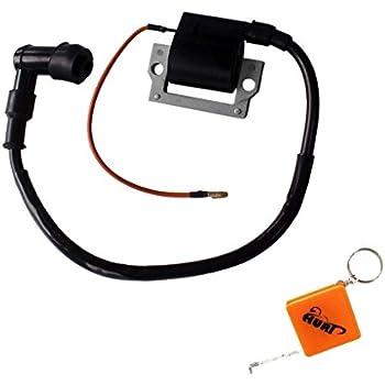 amazon.com: huri ignition coil for yamaha golf cart g1 ... 1982 yamaha g1 ignition wiring