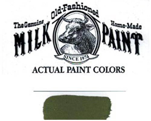 Paint Green Milk (Bayberry Green)