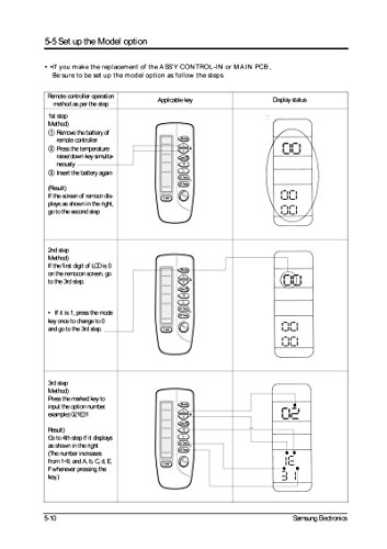 Generic Replacement Air Conditioner Remote Control for Samsung
