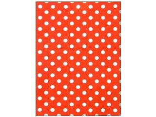Laras Crafts-New Image Design CPE100.30143 CPE Printed Felt 9 x 12 in. Polka Dot Red, Pack of 12 ()