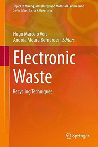 Electronic Waste: Recycling Techniques (Topics in Mining, Metallurgy and Materials Engineering)