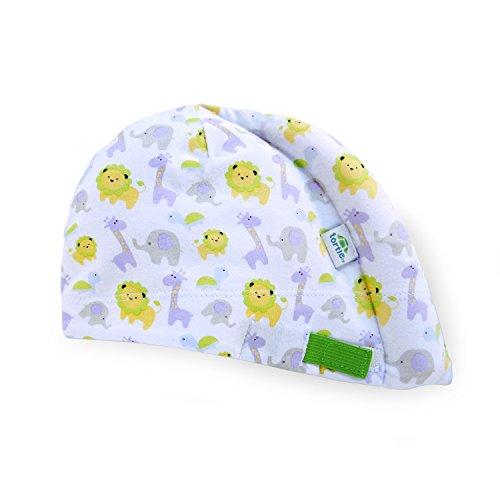 Tortle Newborn Hat, Adjustable Head Support Prevents Flat Head, FDA Cleared, Neck Positioner, Animal Party, Medium