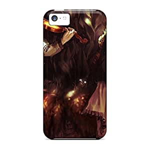 High-end mobile phone carrying skins Skin Cases Covers For Iphone High iPhone 5c - violin love