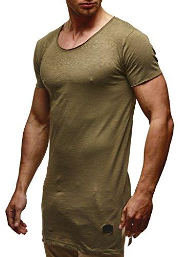 Kaki Homme Leif shirt Nelson T 6nwqIP0Rw