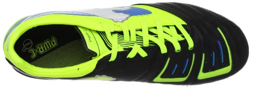 Puma PowerCat 1 FG 102778 - Zapatillas de fútbol para hombre negro - Schwarz (black-fluo yellow-white-brilliant blue 05)