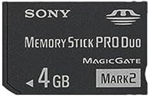 Sony 4 GB Memory Stick ProDuo MSMT4G/TQ1 (Black)