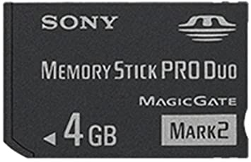 Sony MS-MT4G/TQ 4GB MS Pro Duo Class 2 Memoria Flash - Tarjeta de Memoria (MS Pro Duo, Negro, Class 2)