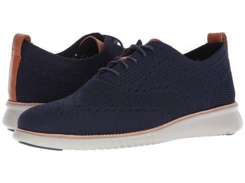Cole Haan(コールハーン) メンズ 男性用 シューズ 靴 スニーカー 運動靴 2.Zerogrand Stitchlite Oxford - Marine Blue/Vapor Grey [並行輸入品] B07BL5KB7V