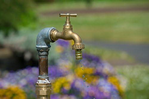1 2 Zoll Alter Stil Jahrgang Vintage Messing Wasserhahn Mit Schlauch Adapter Garten