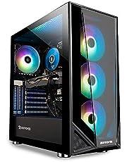 $799 » iBUYPOWER Pro Gaming PC Computer Desktop Trace 4 MR 182A (Ryzen 5 3600 3.6GHz, AMD RX 560 2GB, 8GB DDR4 RAM, 240GB SSD, WiFi Ready, Windows 10 Home)