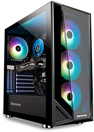 iBUYPOWER Pro Gaming PC Computer Desktop Trace 4 MR 176A (Ryzen 5 3600 3.6GHz, AMD RX 550 2GB, 8GB DDR4, 240GB SSD, WiFi Ready, Windows 10 Home)