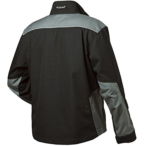 "Elysee 22551-m tamaño mediano ""Arsenal lienzo waist-jacket–negro/gris"