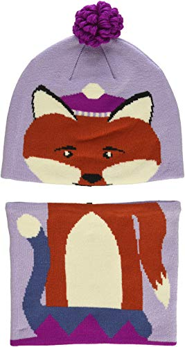 Columbia Kids & Baby Snow More Beanie and Gaiter Set Toddler, Soft Violet Fox, One Size