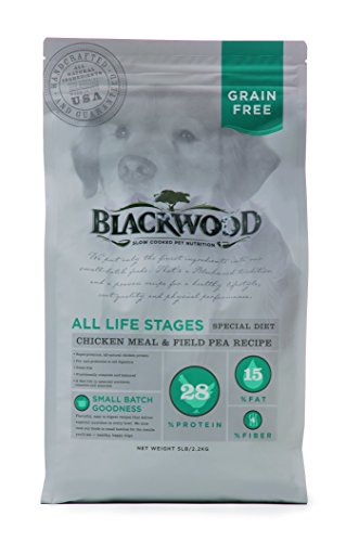 Blackwood Pet Food 22312 All Life Stages, Special Diet, Grain Free, Chicken Meal & Field Pea Recipe, 30lb. (Chicken Peas Recipe)