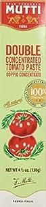 Mutti Italian Double Concentrate Tomato Paste 4.5 oz. Tube