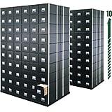 Bankers Box 00511 STAXONSTEEL Storage Box Drawer, Letter, Steel Frame, Black (Case of 6)
