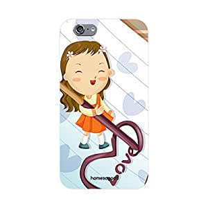 HomeSoGood Written Love White 3D Mobile Case For iPhone 6 (Back Cover)