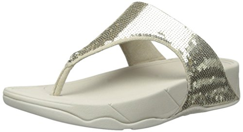FitFlop Women's Classic Electra Sandal ,Pale Gold ,5 M US