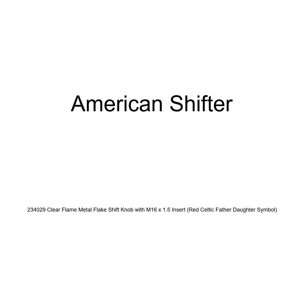 Yellow Capricorn Green Flame Metal Flake American Shifter 300325 Shift Knob