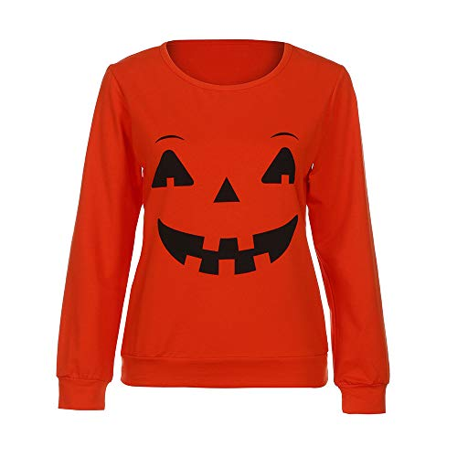 OrchidAmor Halloween Family Funny Clothes Mother Parent-Child T-Shirt Tops Blouse Cute Graphic Tees for Women -