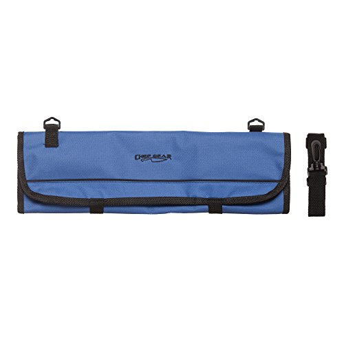 Ergo Chef 1009B 9 Pocket Knife Roll Bag, Trifold, Blue
