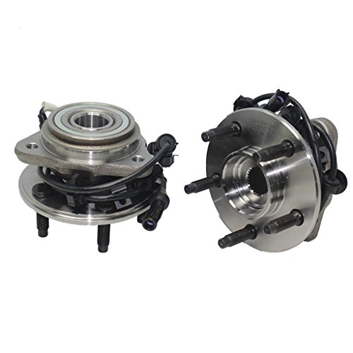 Detroit Axle - 4x4 Front Wheel Hub and Bearing Assembly w/Round ABS Wire fits 4x4 Only [5-Lug] - 1995-01 Ford Explorer 4x4 - [1997-2001 Mountaineer 4x4] - 01-09 Ranger 4x4-01-09 B4000 4x4