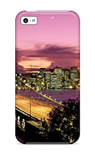 Defender Case With Nice Appearance (san Francisco Bridge California) For Iphone 5c by Maris's Diary