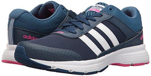 Adidas NEO Women's Cloudfoam VS City W Running Shoe, Mystery Blue/White/Shock Pink, 8 M US