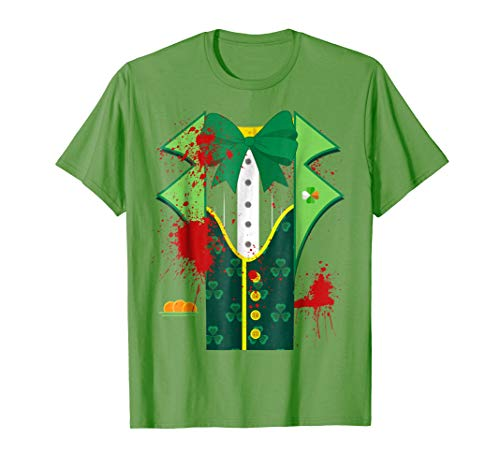 Scary Leprechaun Costumes - Scary Leprechaun Costume Shirt One sided