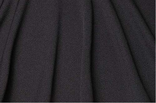 Schwarz Larga Elegante Joven Parka Outerwear Mujer Prendas Hipster Exteriores Color Otoño Ropa Casual Slim Sólido Primavera Fit Saoye Abrigos Gabardina Moda Moda Fashion Manga wZYqqfg