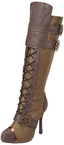 Scarpe Ellie Womens 420 Quinley Boot Green